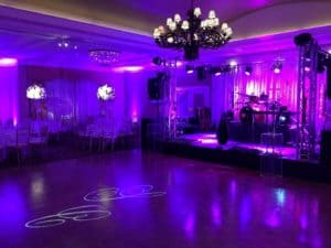 dancefloor uplighting rental